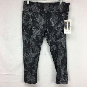 Active Life Black/Charcoal Reversible Leggings